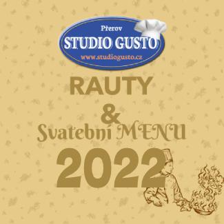 Catering PŘEROV Studio Gusto menu 2022